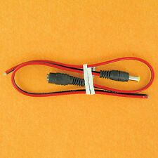Heavy Duty DC Power Supply Coaxial Pigtails 5V 6V 9V 12 Volt 5A Amp 5.5 / 2.1 mm
