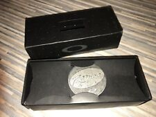 Oakley Romeo 2 Box and Coin Only for 1997 Titanium X METAL - RARE