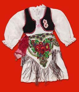 Veshje popullore shqiptare per çika - Albanische Trachtenkleider für Mädchen