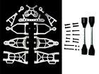 Rovan Complete Extended CNC Aluminum Suspension Arm Kit Fit 1:5 HPI Baja 5B 5T
