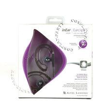 Altec Lansing UHS307 Wired Ear Hook Sport In-Ear Headphone Headset Frost Black
