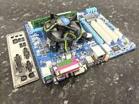Pentium G640 @ 2.80Hz 4GB DDR3 Gigabyte GA-H61M-S2PV CPU Combo Working EA118