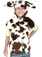 BOYS GIRLS KIDS DALMATION DOG TABARD FANCY DRESS BOOK DAY FARM ANIMAL 3//8 YRS