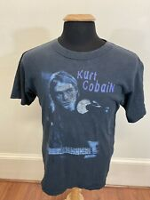 Vintage Nirvana Kurt Cobain Rare T Shirt Notebook Nevermind Incesticide Medium
