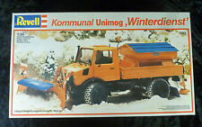 Revell Mercedes Benz Unimog Winterdienst Snow Plough Truck 1/24 Model Kit