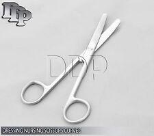 """Dressing Nursing Surgical Scissors 6.5"""" Blunt / Blunt Curved OS-006"""