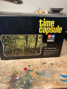 Tamiya time capsule the last word figures 1/35 diorama kit senics unused