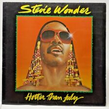 "Stevie Wonder ""Hotter Than July"" LP"