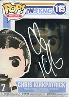 Chris Kirkpatrick Autographed *NSYNC Funko Pop (JSA)