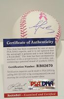 Alex Reyes Signed Rawlings OMLB BCA Baseball  PSA/DNA ROOKIEBALL COA