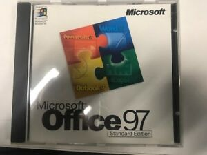 Microsoft office 97 standard edition Full Version with CD and COA