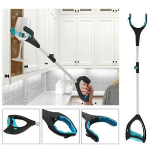 """33"""" Pick Up Helping Hand Foldable Grabber Long Reaching Arm Extension Tool Tr fj"""