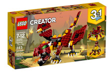 Lego 31073 Creator 3 in 1 Mythical Creatures Dragon, Spider, or Troll,~ NEW ~
