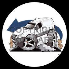 Koolart 4x4 4 x 4 Spare Wheel Graphic Citroen Berlingo Van Sticker 3079