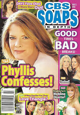 CBS Soaps In Depth Magazine - July 2, 2012 - Michelle Stafford, Jacob Young