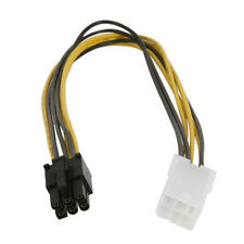 """12"""" PCI Express 6 Pin Video Card Extension PC Cable 6-Pin Male to 6-Pin Female"""