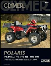 CLYMER POLARIS SPORTSMAN 500 96-08 HO X2 SERVICE MANUAL FREE SHIP
