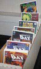 Modern DC BATMAN TITLES LONG BOX 181pc Count High Grade Comic Lot 9.0-9.2OB