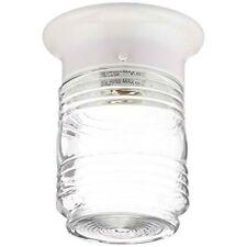 Boston Harbor HV-66919-WH-3L Porch Light Jelly Jar White