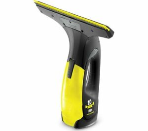KARCHER WV Anniversary Edition Window Vacuum Cleaner - Black & Yellow - Currys