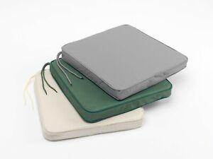 Seat Pad Chair Memory Foam Lounger Garden Furniture Outdoor Indoor Tie On Back