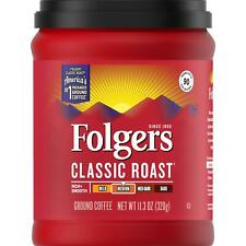 Folgers Classic Roast, Medium Roast, Ground Coffee, 11.3 Ounce, Packaging May