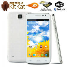 "4.0"" Capacitve Android 4.4 Dual-Sim 3G Smart Phone Factory Unlocked US Version"