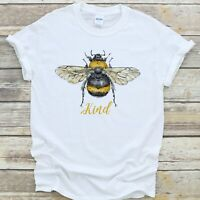 Bee Kind T Shirt Be Kind Honey Bee Summer Unisex Gift - Premium Quality Cotton