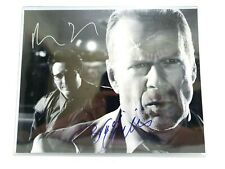 Authentic Sin City Bruce Willis / Michael Madsen Hand Signed Autographed 8 x 10