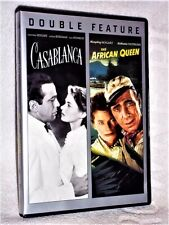 Casablanca/The African Queen (Dvd, 2013, 2-Disc Set) Katherine Hepburn Humphrey