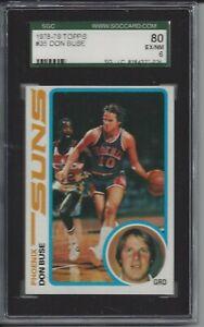 1978 Topps basketball #35 Don Buse - SGC 80