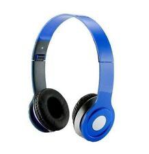 HEADGEAR STEREO HEADPHONES DJ STYLE FOLDABLE HEADSET EARPHONE OVER EAR MP3 W MIC