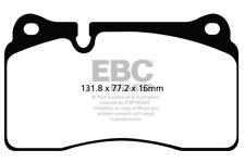 EBC Yellowstuff Front Brake Pads Audi TT RS+ (8J) 2.5 Turbo (360HP) (2012 > 14)