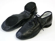 NEW BLOCH Jazz Ballet black and tan split Dance Shoe-many sizes