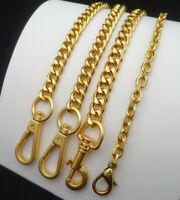 Purse Chain Strap Handle Shoulder Crossbody Handbag Metal Replacement Matte-gold