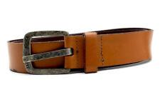 Jack & Jones Mens Leather Belt Brown Size 40