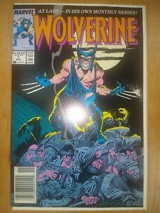 * Wolverine * 1 * Rare Newsstand !! **