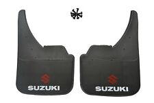 Universal Car Mudflaps Front Rear Suzuki Logo Swift SX4 Vitara Mud Flap Guard
