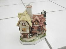 "David Winter Cottage Plough homestead w/ Box 1995 Collectors Piece, Signed, 6"""