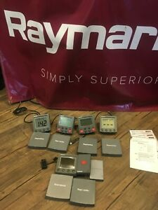 Raymarine ST6001+  AUTOPILOT Control Head & Cover E12098 - Tested & Working!!!