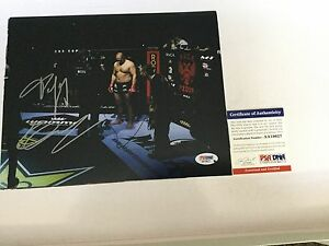Fedor Emelianenko Signed 8x10 Photo PSA DNA COA a