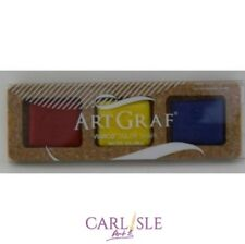 ArtGraf Tailor Shape Watersoluble Carbon Disc Set