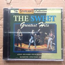 The Sweet - Greatest hits CD - Brian Connolly Glam Rock / Hard Rock 1970's
