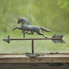 Rustic Horse Tabletop Galzanized Weathervane Stallion Mare Equestrian Decor