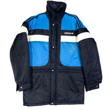 Giacca Vintage 70s 80 ADIDAS Size 48 Blue Navy JACKET COAT Original Originals