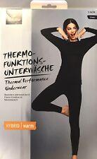 Thermo-Funktionsunterwäsche Damen, 36/38 schwarz von Tchibo