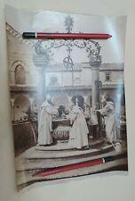 Fine XIX Foto Albumina Alinari, Firenze Certosa Il Pozzo nel Chiostro