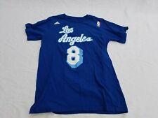 Adidas Kobe Bryant 8 T SHIRT Los Angeles Blue Womens Size S  P NBA