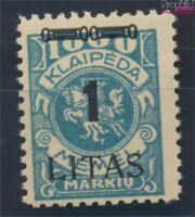 Memelgebiet 192 postfrisch 1923 Aushilfsausgabe (8731673
