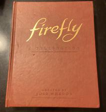Firefly: A Celebration Anniversary Edition Josh Whedon bonus photos 1st edition